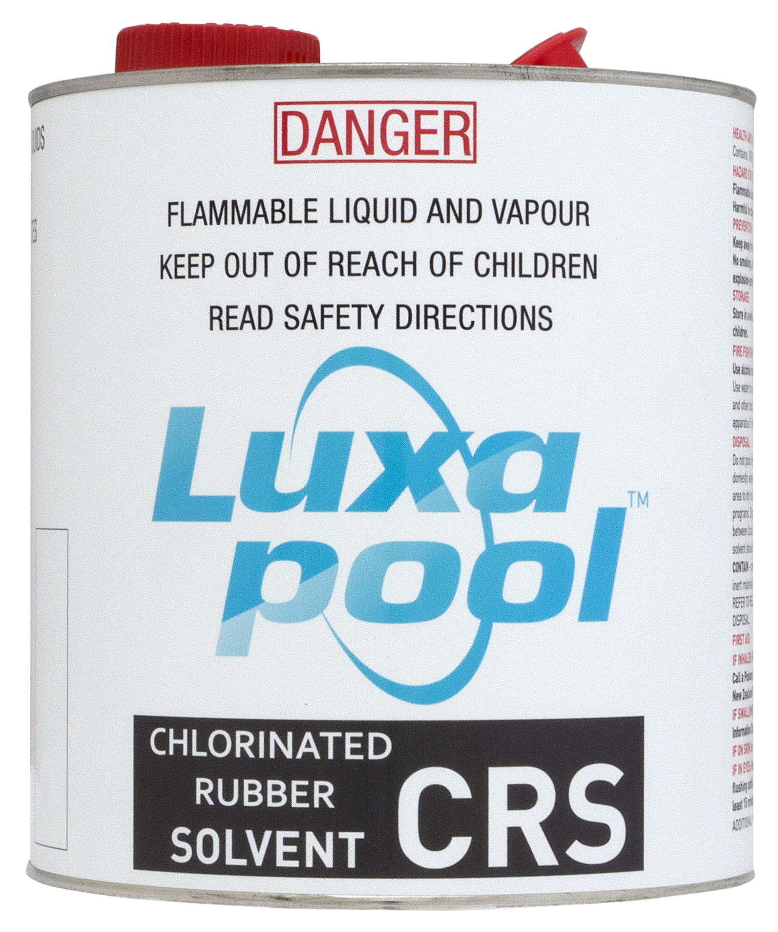 Luxapool rubber solvent